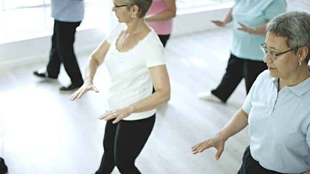 Tai Chi for people with Sight Loss